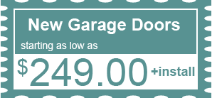 $249.00 - New Garage Doors